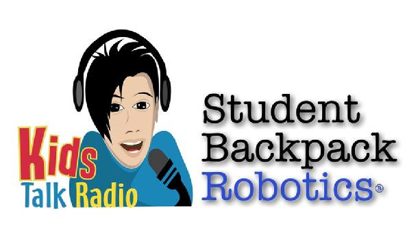Kids Talk Radio Student Backpack Robotics