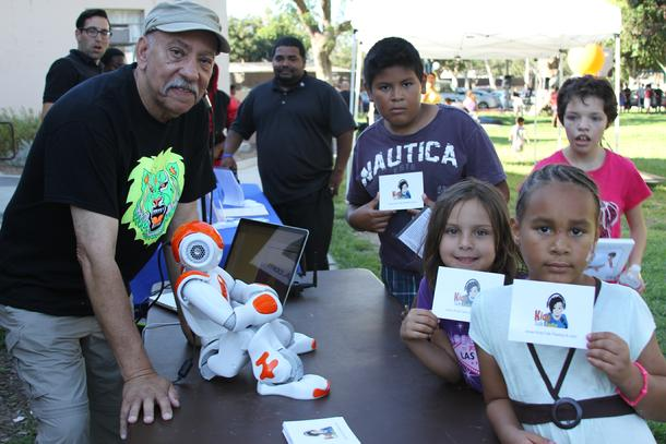 Bob Barboza, Nao, Kids Talk Radio, Long Beach Parks and Recreartion Department