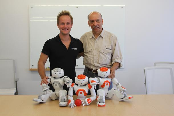 Alderbaran Robotics, Cedric Vaudel, Bob Barboza, Kids Talk Radio, Backpack Robotics