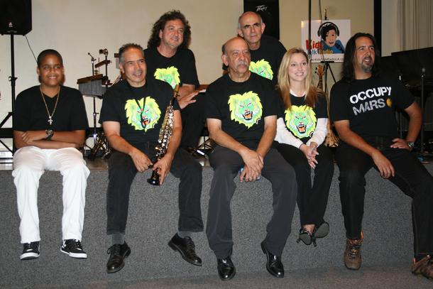 Occupy Mars Concert, Bob Barboza, Kids Talk Radio, Kids Talk Radio Sound Effects Orchestra
