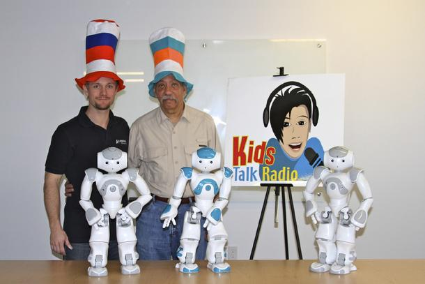 Bob Barboza, Kids Talk Radio Art, Encaustic,Keepimg Art Alive in the School, Backpack Robotics