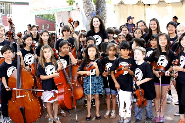 Los Angeles Children's Orchestra, Kids Talk Radio, Susan Pascale, Bob Barboza