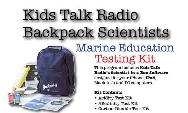 Marine Science Backpack