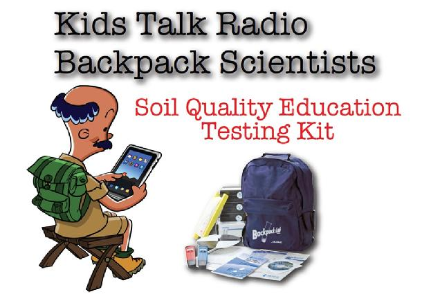 Kids Talk Radio Backpack Scientists